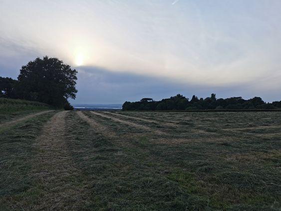 Almondsbury fields and Aztec
