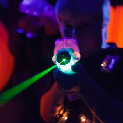 Halloween Laser Tag at The Play Farm