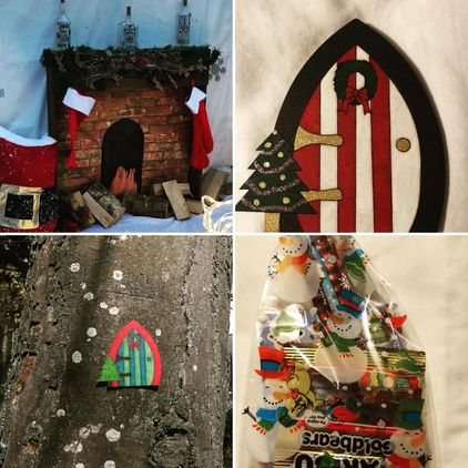 Christmas Fairy Door Walk