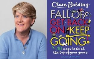 Clare Balding: Fall Off, Get Back On, Keep Going