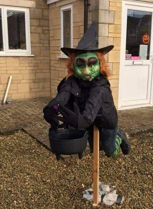 Stratton's Spooky Scarecrow Trail