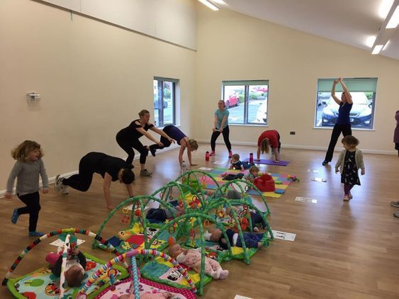 She's active Baby and Toddler Classes
