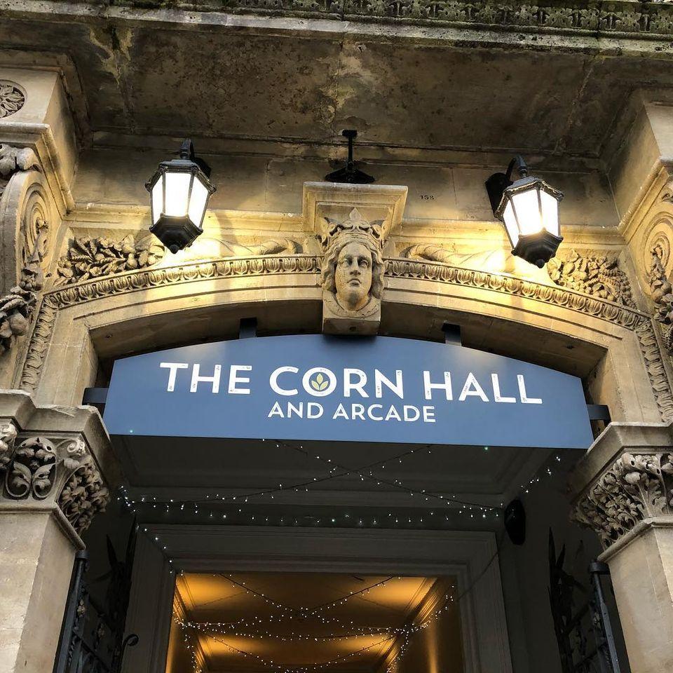 The Corn Hall and Arcade