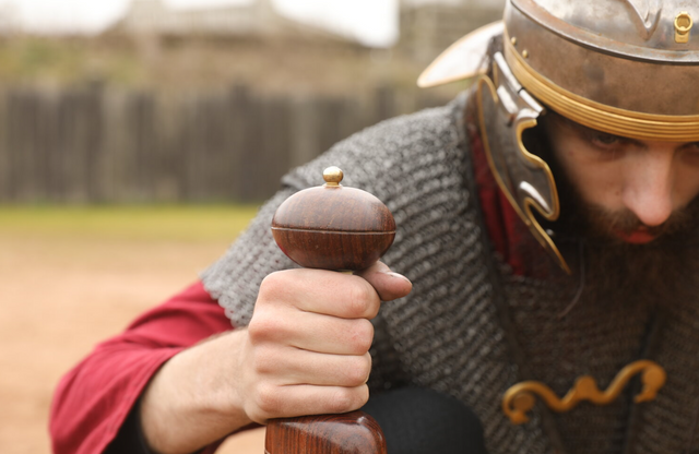 The Romans Return at Lunt Fort