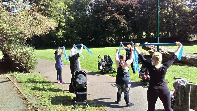 Buggy Workout at Caludon Castle Park