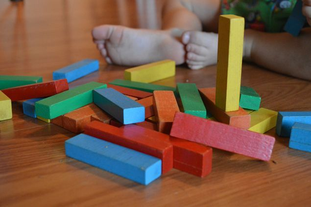 Building Blocks Stay and Play