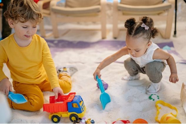 Stay and Play at Finham Library