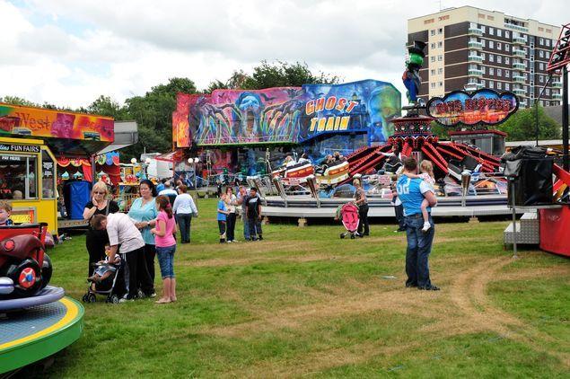 Hearsall Common Fun Fair