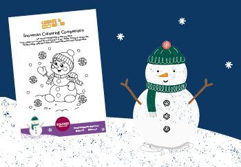 Snowman Colouring Competition