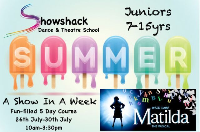 Showshack Holiday Workshops - Juniors
