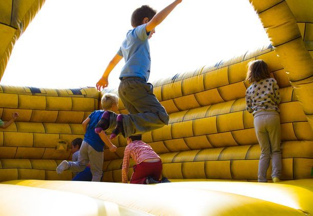 Indoor Inflatable Play