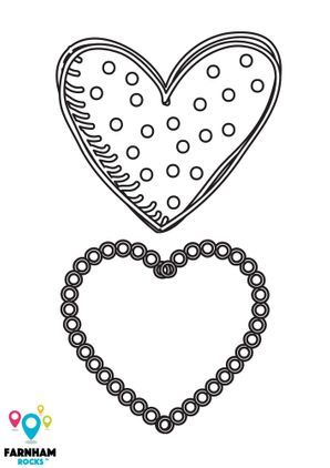 Valentine's Colouring Sheets