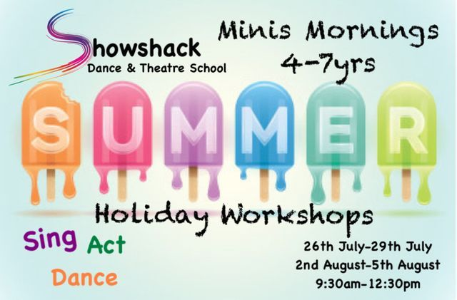 Showshack Holiday Workshops - Mini Mornings