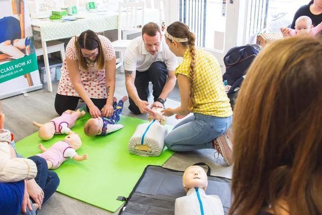 Baby & Child First Aid Class