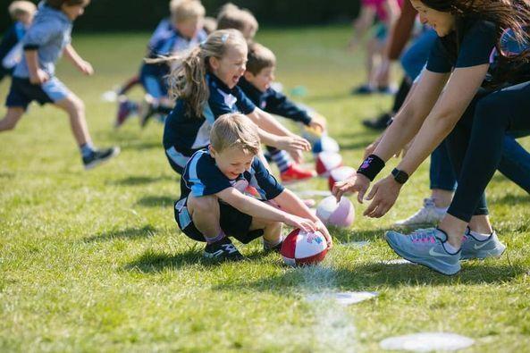 Rugbytots at Chosen Hill School