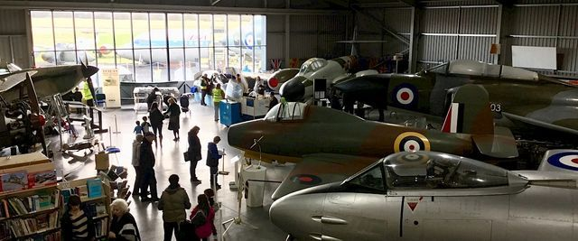 Battle Of Britain Special Exhibition & Flypast
