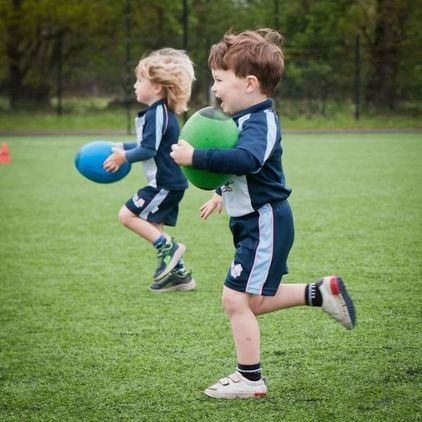 Rugbytots at Old Cryptians