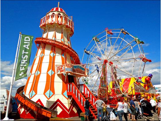 Vintage Fun Fair at Overfarm Market