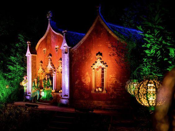 Midsummer Lights: Rococo Garden