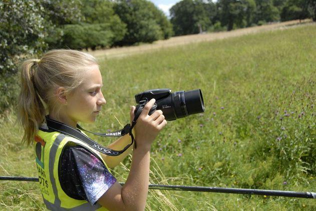 Autumn Colours Kids Photography Workshop