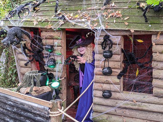 Halloween Happy Hauntings at Fishers Farm