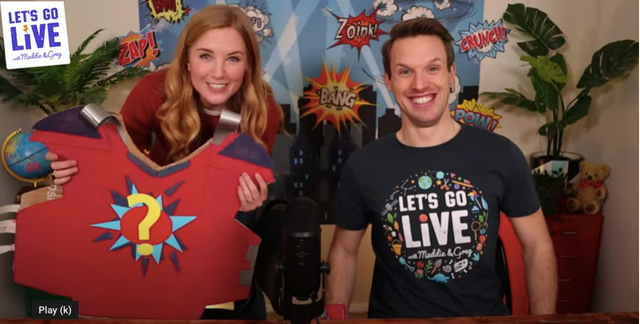 Let's Go Live with Maddie and Greg