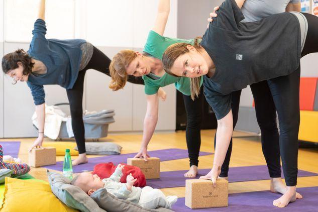 Mum and Baby Postnatal Yoga