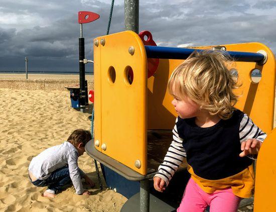 Ryde Beach Sand Playground