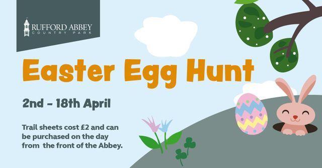 Rufford Abbey Easter Egg Hunt