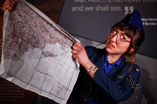 Hands on History at The International Bomber Command Centre