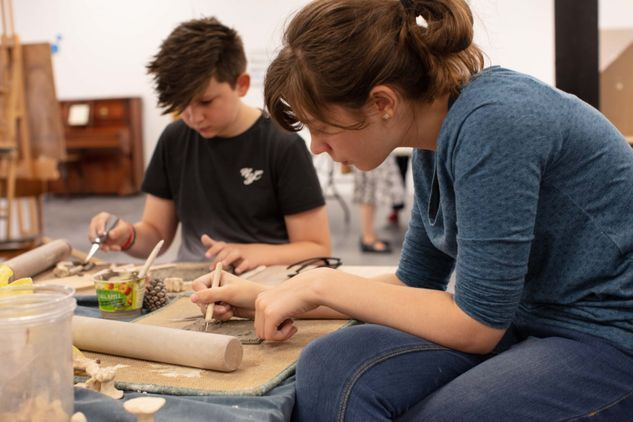 Family Drop-in Activities at The Hub, Sleaford
