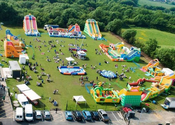 Newark Inflatable Family Fun Day