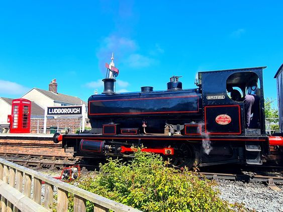 Super Hero Day Lincolnshire Wolds Railway