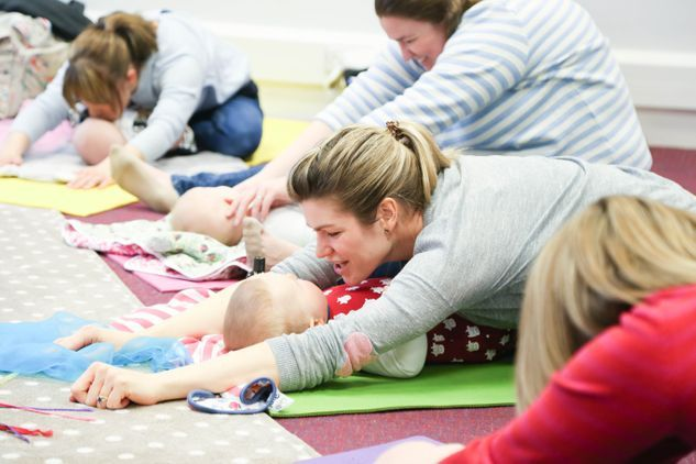 Kimberley Boyd Baby Massage and Baby Yoga Louth