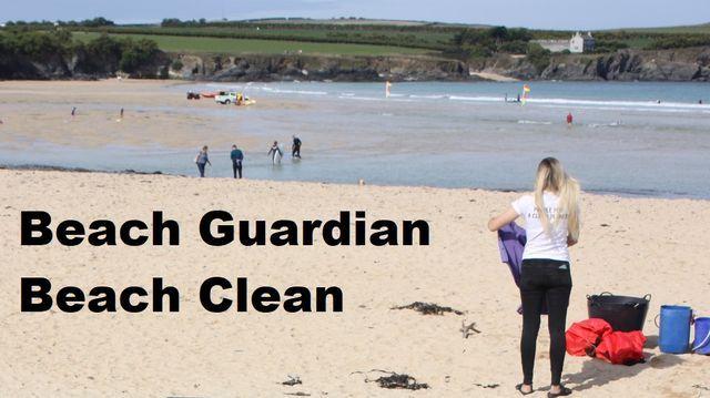 Beach Clean Harlyn Bay