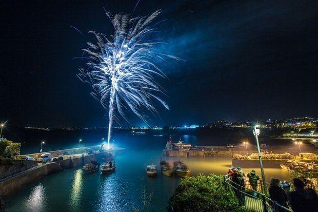 Looe Fireworks Display