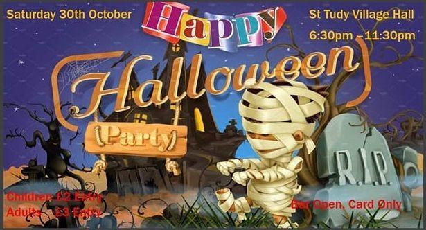St Tudy Halloween Night