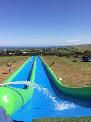 Giant Slip and Slide