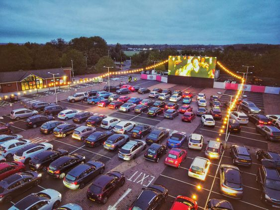 Swindon Christmas Drive in Cinema Experience