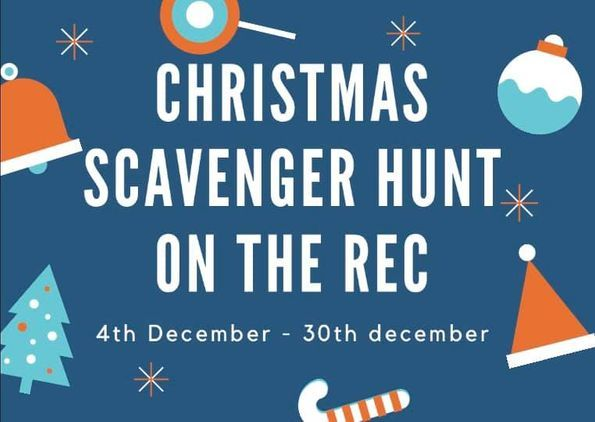 Christmas Scavenger Hunt at Mini Town Play